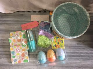 EASTER BASKET w  EXTRAS