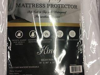 Home Fashions Designs Premium Cotton King Mattress Protector