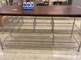 Metal Work Station with Counter Top