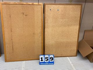 lot of 2 Cork Boards