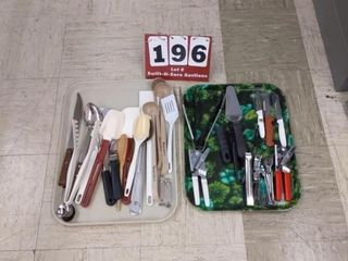 Assorted utensils