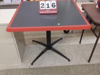 3  x 3  card table