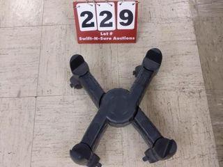 Adjustable floor roller