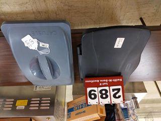 2 trash can lida  mismatched