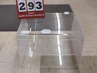 Plastic display case