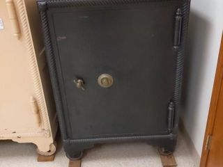 Medium size black safe