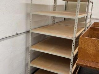 File Box Storage Shelf Unit
