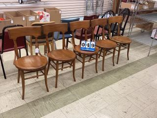 Set of Matching Wooden Chairs