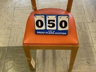 Wood Cushioned Chair