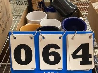lot of Assorted Coffee Cups