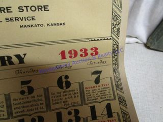 OlD CAlENDARS