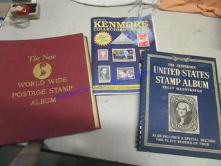 STAMP AlBUM W STAMPS