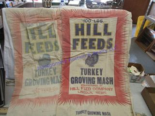 HIll FEEDS BAGS