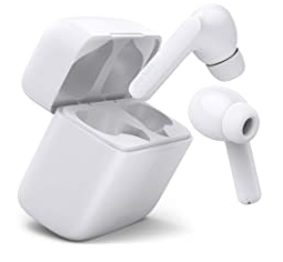 Earbuds White With Chargeable case