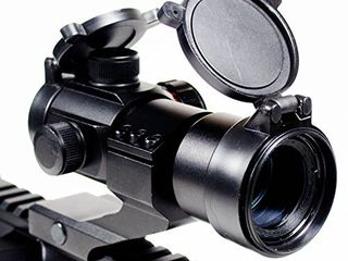 Ozark Armament Rhino Red Green Dot Reflex Sight   4 MOA Accuracy   5 Brightness Settings for All Day and Night Use   Sealed Against Dust and Moisture   Mounts to Any Picatinny Rail