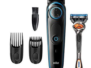 Braun Beard Trimmer BT5240  Hair Clippers for Men  Cordless   Rechargeable with Gillette ProGlide Razor