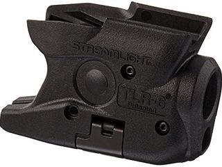 Streamlight 69273 TlR 6 Tactical Pistol Mount Flashlight 100 lumen with Integrated Red Aiming laser Designed Exclusively and Solely for M P Shield 40 Shield 9 Only  Black