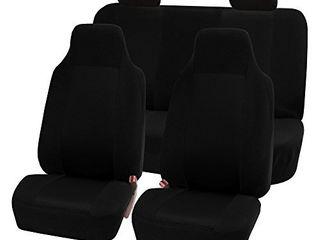 FH Group FB102BlACK114 Black 3D Air mesh Auto Seat Cover  Full Set