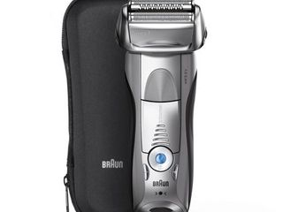 Braun Series 7 Electric Shaver for Men 7893s  with Travel Case Silver