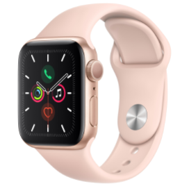 Apple Watch Series 5  GPS   Cellular  40mm    Gold Aluminum Case with Pink Sport Band Parts Only