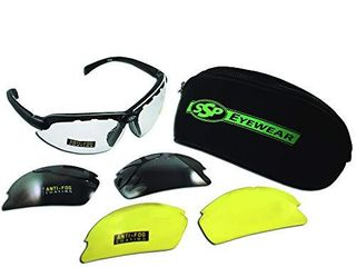 SSP Eyewear Top Focal Tactical Safety Glasses Kit with Assorted Interchangeable 2 50 Bifocal lenses  TF250 AMZ KIT