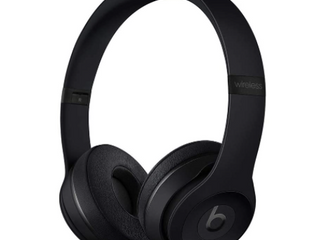 Beats by Dr  Dre   Solo The Beats Icon Collection Wireless On Ear Headphones   Matte Black