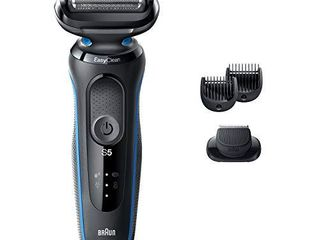 Braun Electric Razor for Men  Series 5 5020s Electric Shaver with Beard Trimmer  Rechargeable  Wet   Dry Foil Shaver with EasyClean