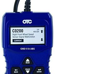 OTC Tools 3208 OBD II   ABS Scan Tool with Enhanced Engine and Transmission Codes