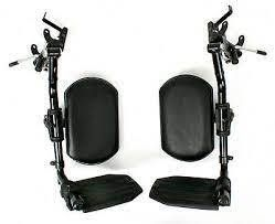 Invacare Elevating legrest Assembly w  Padded Calf Pad