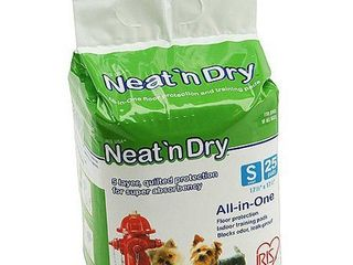 IRIS Neat n Dry Premium Small Pet Training Pads 25 PACK