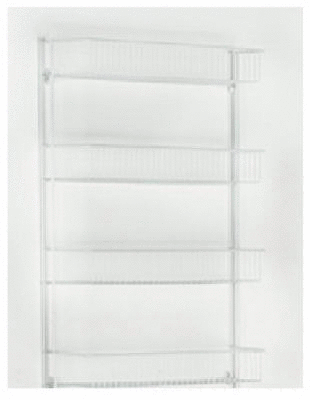 ClosetMaid 4 Tier Wall Rack