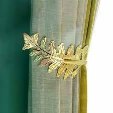 Olivia leaf Curtain Holdbacks SET OF 2