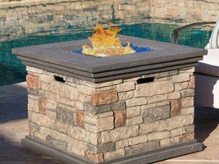 Chesney Outdoor Square Fire Pit by CKH