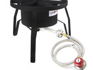 Gas One High Pressure 1 Burner Propane Outdoor Cooker Burner Stove