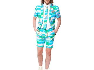 OppoSuits Mens Summer Flaminguy Flamingo Suit