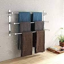 3 Tier Bathroom Accessory Towel Bar