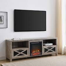 The Gray Barn Rustic Fireplace TV Console SEE DESCRIPTION