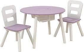Kid Kraft around Storage Table  amp  Chairs