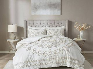 Cotton Chenille Comforter Set King Cali King Size