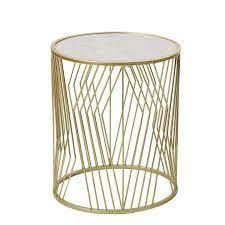 Adeco Decorative Nesting Round Side Accent Plant Stand