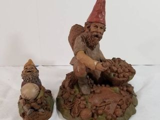 Two Tom Clark Gnomes  I dont know 1995  Franklin 1993 Number 29  Rich 1992 Number 2