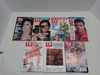 lot Of 7 TV Guide Collectors Magazines