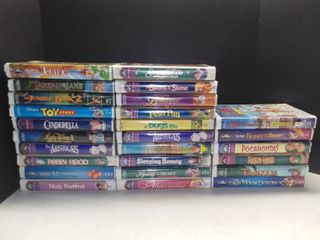 lot of 26 Disney VHS Movies