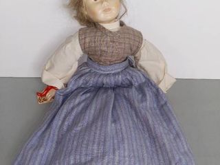 16 Inches ANKER PUPPE Doll Eier Vreneli Swiss Hand Made
