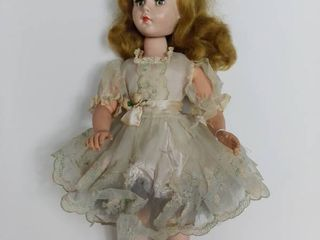 Sweet Sue Walker Doll   Moves But Neck Is a little Stretched   Dress is Tore Up