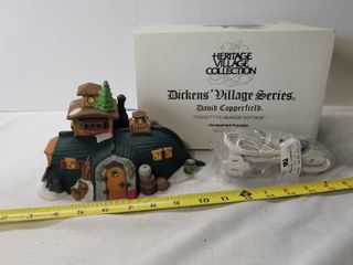 Heritage Village Collection  Dickens Village Series  David Copperfield  Peggottys Seaside Cottage  Department 56