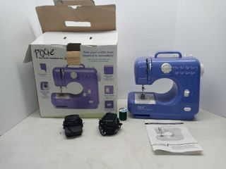 Purple Singer Pixie Craft Sewing Machine Tested And Working