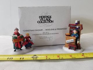 Heritage Village Collection  Christmas Bazaar Woolens and Preserves  Department 56