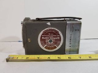 Antique Bell and Howell 16mm Magazine Camera