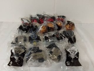 lot of 20 Mcdonalds Happy Meal Toys Year 2001   Battle Bots Numbers 1 2 5 6 7